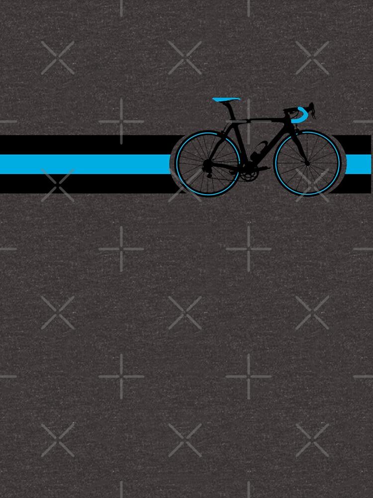 Fahrrad Stripes Team Himmel von sher00