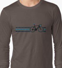 Bike Stripes Team Sky - Chain Long Sleeve T-Shirt