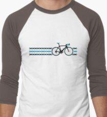 Bike Stripes Team Sky - Chain Men's Baseball ¾ T-Shirt