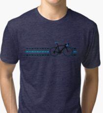 Bike Stripes Team Sky - Chain Tri-blend T-Shirt