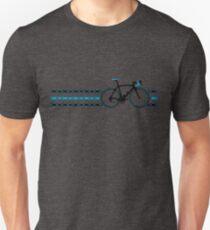 Bike Stripes Team Sky - Chain Slim Fit T-Shirt