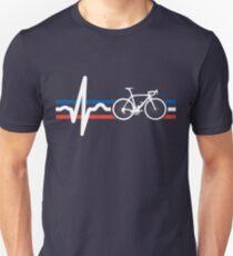 Bike Stripes France - Heartbeat T-Shirt