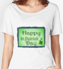 Happy Saint Patrick day Women's Relaxed Fit T-Shirt