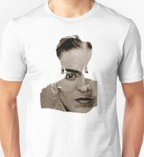 FRIDA - between worlds - sepia T-Shirt