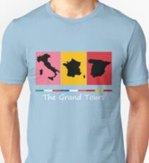 Grand Tours Countries v2 T-Shirt