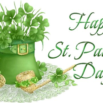 Happy Saint Patrick's day card by Mallorys