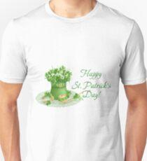 Happy Saint Patrick's day card Unisex T-Shirt