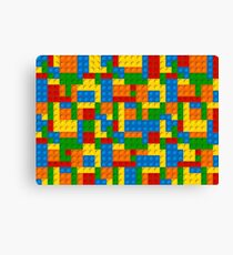 plastic blocks Canvas Print