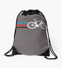 Bike Stripes Velodrome Drawstring Bag