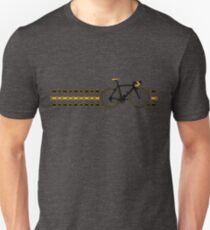 Bike Stripes Yellow/Black - Chain T-Shirt