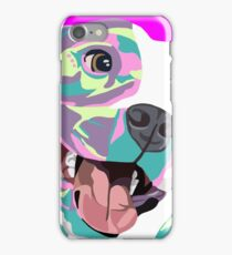 Pitbull art iPhone Case/Skin