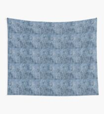 Laminated tie dye Wall Tapestry