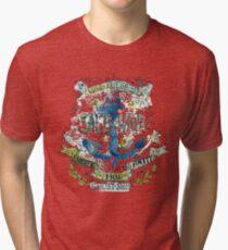 Salt and wind.. Tri-blend T-Shirt