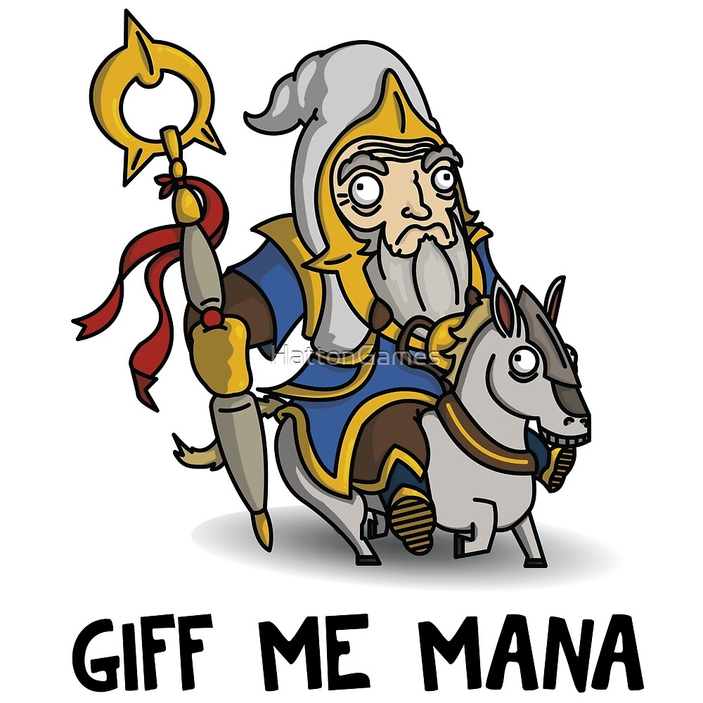 GIFF ME MANA by HattonGames