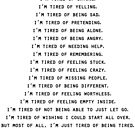 Tired of being tired by mariatorg