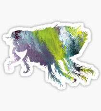 Flea Sticker