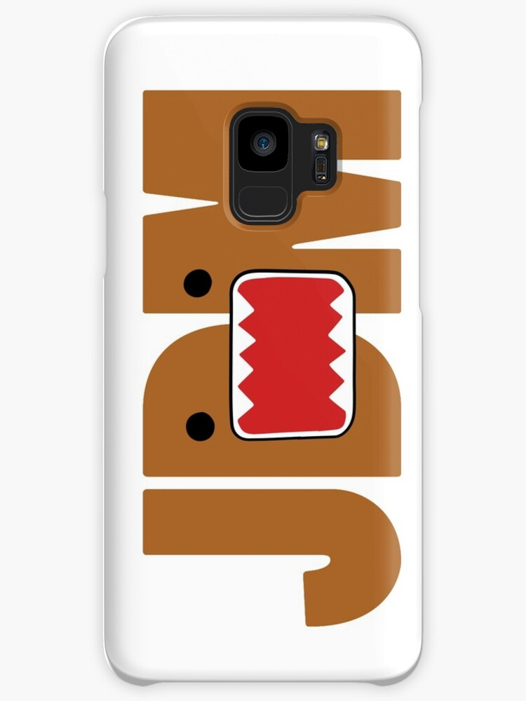 domo monster in jdm letters cases skins for samsung galaxy by
