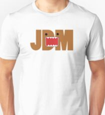 Domo Monster in JDM letters Unisex T-Shirt