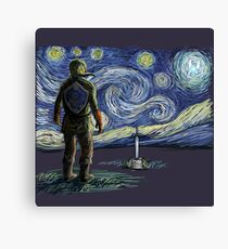 Starry Link Canvas Print