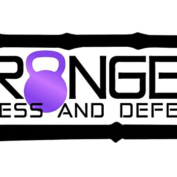 Purple Full Logo for Granger Fitness and Defense  by johngranger