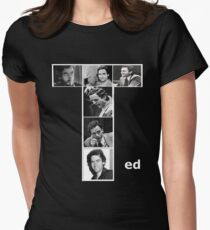 Ted Bundy Serial Killer Womens Fitted T-Shirt