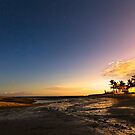 Bantayan Low Tide Nighttime View by Bo Insogna