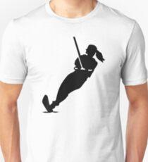 Water skiing woman Unisex T-Shirt
