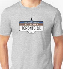 Toronto Street Sign, Toronto, Canada T-Shirt