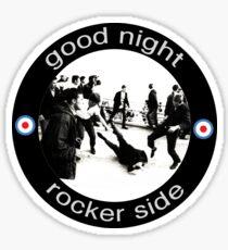 Good Night Rocker Side Sticker