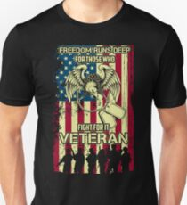 Veteran - Paid for freedom T-Shirt