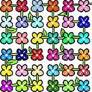 Blumenmuster von laustar