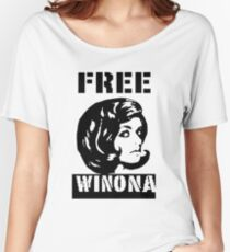 FREE WINONA Women's Relaxed Fit T-Shirt