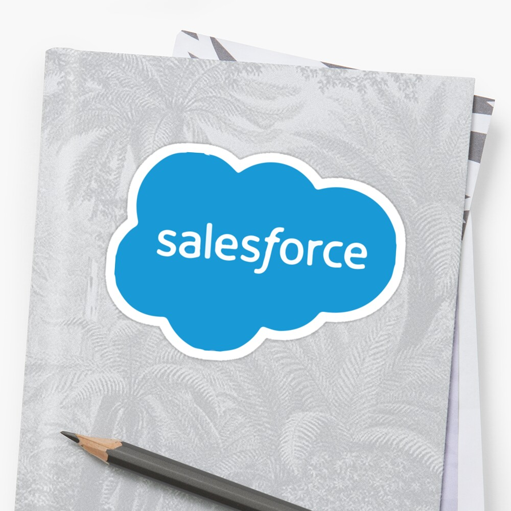 Salesforce logo stickers by iepster redbubble for Salesforce free t shirt