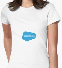 SalesForce Logo Women's Fitted T-Shirt