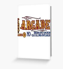 Penny Arcade Greeting Card