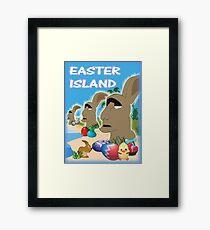 Easter Island Framed Print