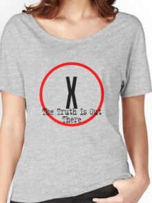 The X Files - Truth is out there Women's Relaxed Fit T-Shirt