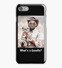 What's a Gazelle? iPhone Case/Skin
