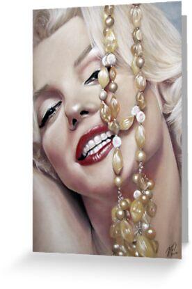 Marilyn Monroe by Valerie Simms