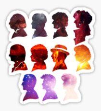 Galaxy Doctor Who Sticker