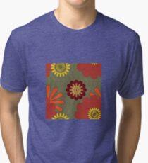 Rusty Blooms Tri-blend T-Shirt