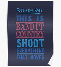Bandit-Land Poster