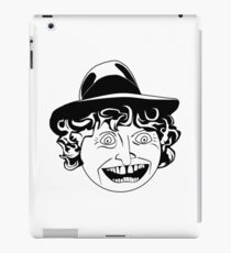 Tom Baker Black & White Portrait iPad Case/Skin