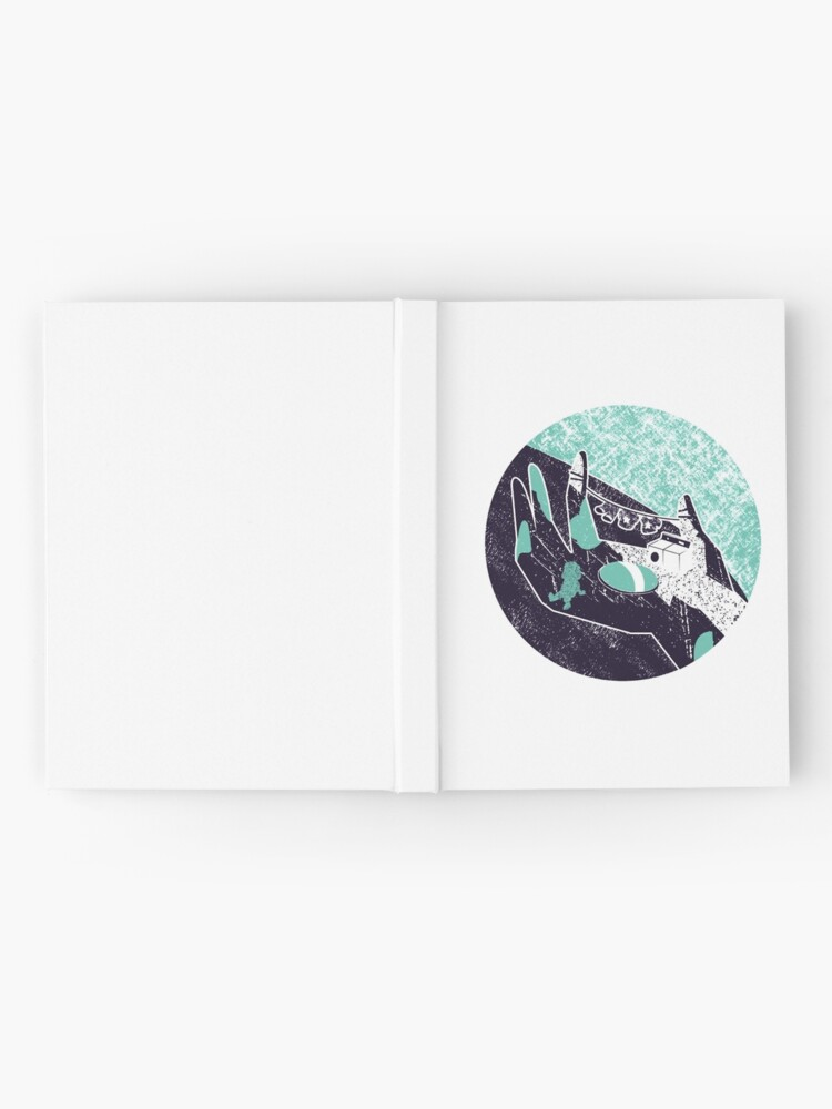 Alternate view of On the hand Hardcover Journal