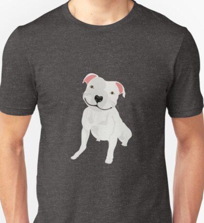 Shiny, Happy Pitbull Smiling BIG T-Shirt
