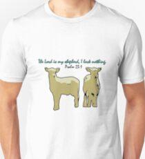 Psalm 23:1 Unisex T-Shirt