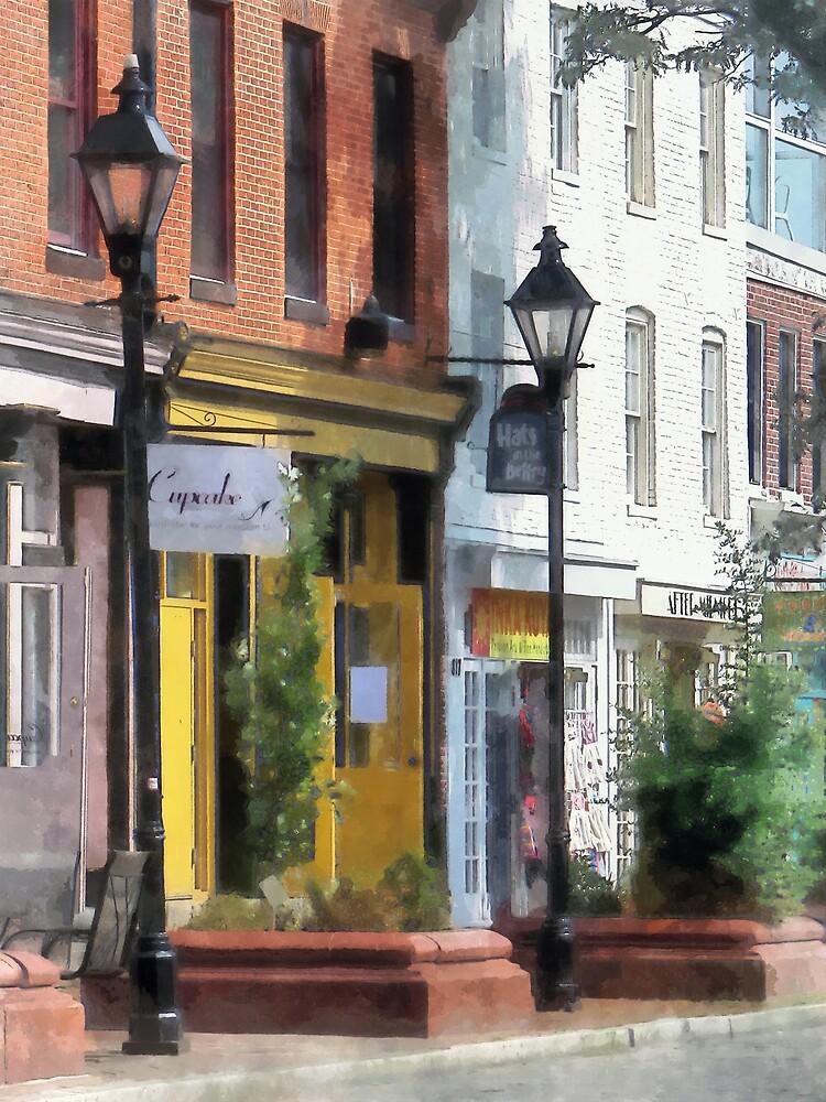 Baltimore MD - Quaint Fells Point Shreet by Susan Savad
