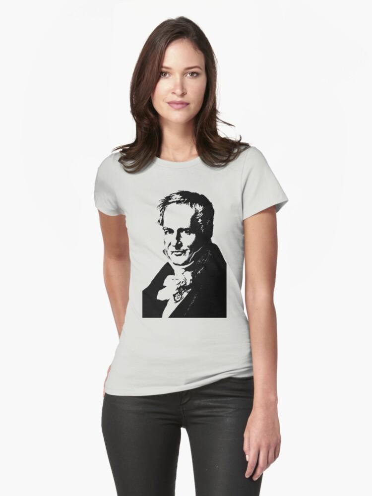 Alexander von Humboldt-3 Womens T-Shirt Front