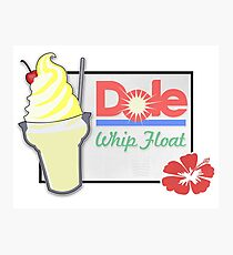 Dole Whip Float Photographic Print