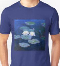 Two Water Lilies Monet Fine Art T-Shirt